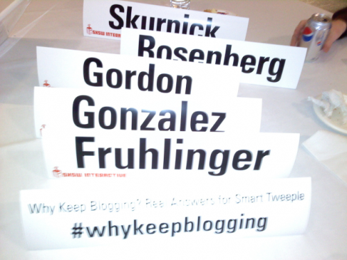 SXSW: Why Keep Blogging?